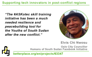 Elvis Chi Nwosu on #ASKotec