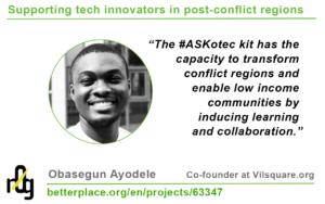 Obasegun Ayodele on #ASKotec
