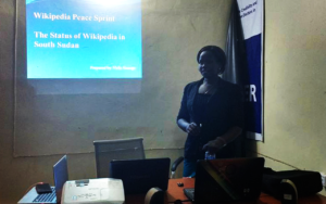 Wau Wikipedia Peace Sprint