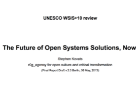 UNESCO WSIS+10 Review