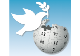 Official Wikipedia for Peace Logo, designed by Earlyspatz